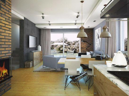 Projekt domu Murano S - widok 3