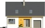 Projekt domu Esens - elewacja przednia