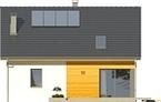 Projekt domu Esens - elewacja tylna