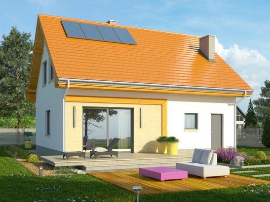 Projekt domu Iskra - widok 2
