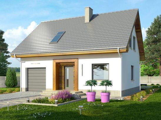 Projekt domu Iskra 2 - widok 2