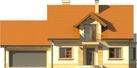 Projekt domu Aroma 2G - elewacja przednia