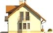 Projekt domu Aroma 2G - elewacja boczna 1