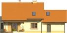 Projekt domu Aroma 2G - elewacja tylna