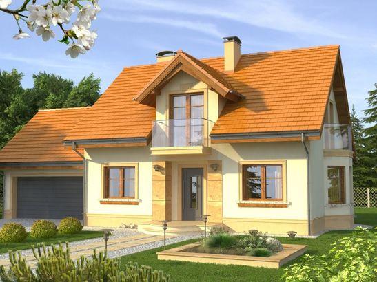 Projekt domu Aroma 2G - widok 1