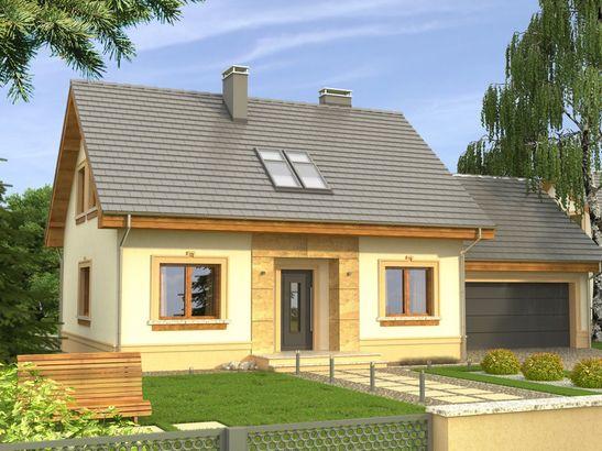 Projekt domu Elegant 2G - widok 1