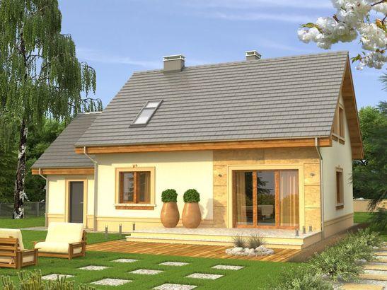 Projekt domu Elegant 2G - widok 2