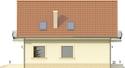 Projekt domu Esencja - elewacja boczna 1