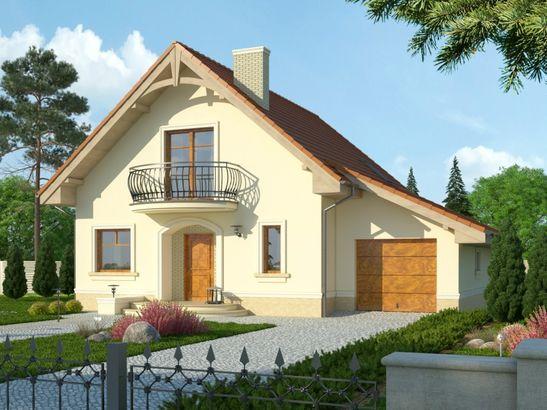 Projekt domu Esencja - widok 1