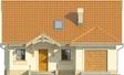 Projekt domu Lapis 2  - elewacja przednia