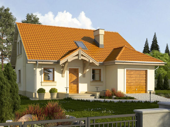 Projekt domu Lapis 2  - widok 2