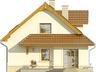Projekt domu Orzech - elewacja boczna 1