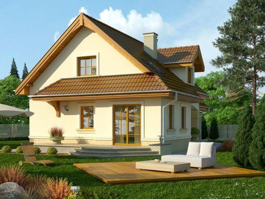Projekt domu Orzech - widok 2