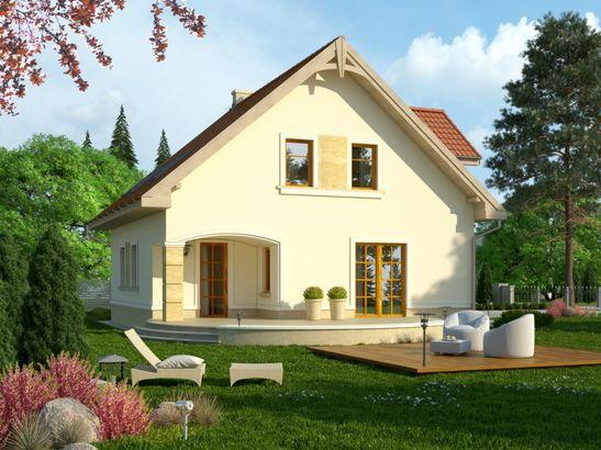 Projekt domu Piano 2G - widok 2