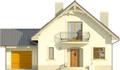 Projekt domu Sorbona - elewacja przednia