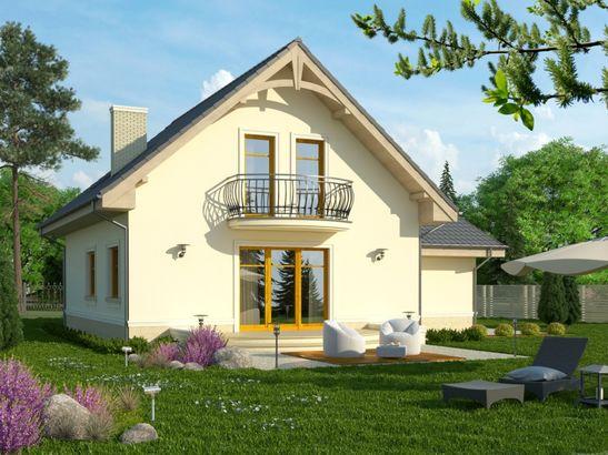 Projekt domu Sorbona - widok 2