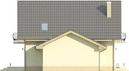 Projekt domu Sorbona 2G - elewacja boczna 2