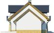 Projekt domu Szmaragd 2G - elewacja boczna 2
