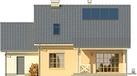 Projekt domu Madras - elewacja tylna