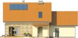 Projekt domu Gradient 2G - elewacja tylna