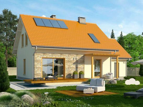 Projekt domu Gradient 2G - widok 2