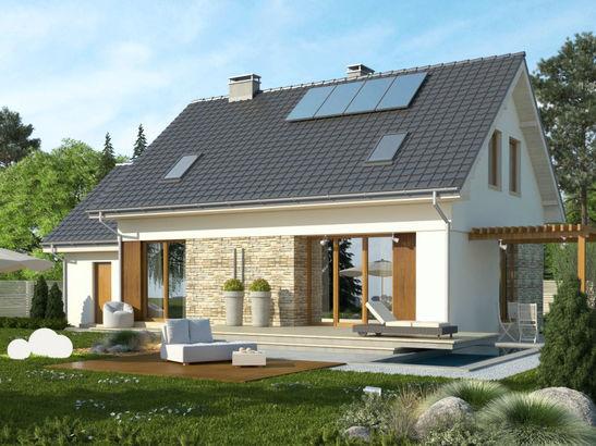 Projekt domu Ideal - widok 1