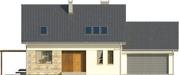 Projekt domu Ideal 2G - elewacja przednia