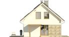 Projekt domu Ideal 2G - elewacja boczna 1