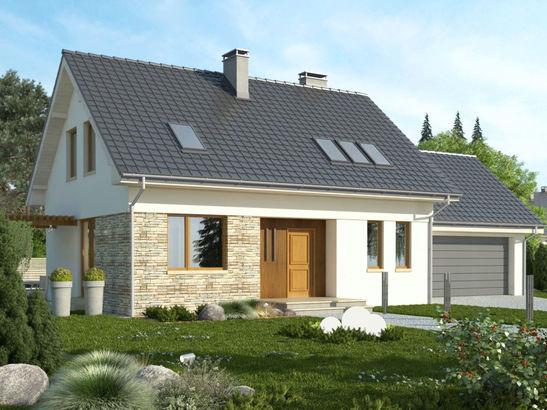 Projekt domu Ideal 2G - widok 1