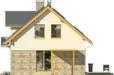 Projekt domu Umbria 2G - elewacja boczna 1