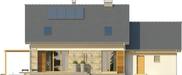 Projekt domu Umbria 2G - elewacja tylna