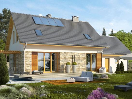 Projekt domu Umbria 2G - widok 2