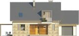 Projekt domu Umbria 2 - elewacja przednia