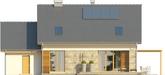 Projekt domu Umbria 2 - elewacja tylna