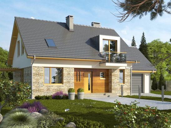 Projekt domu Umbria 2 - widok 1