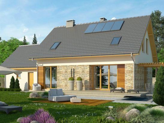 Projekt domu Umbria 2 2G - widok 1