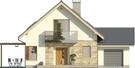 Projekt domu Maestro - elewacja przednia