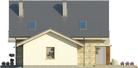 Projekt domu Maestro - elewacja boczna 2