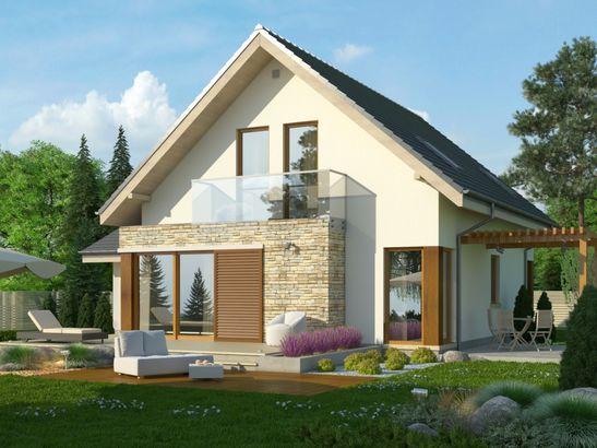 Projekt domu Maestro - widok 2