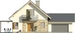 Projekt domu Maestro 2G - elewacja przednia
