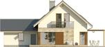 Projekt domu Maestro 2G - elewacja tylna
