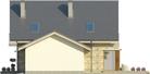 Projekt domu Maestro 2G - elewacja boczna 2