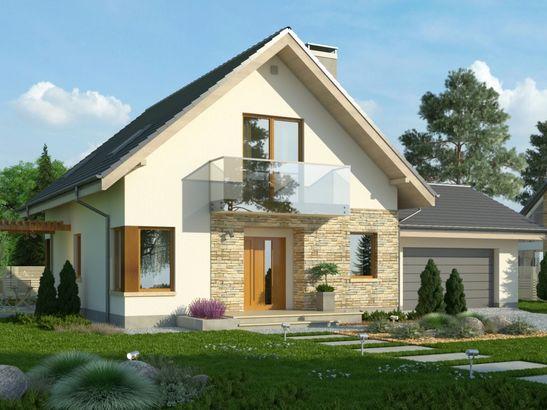 Projekt domu Maestro 2G - widok 1