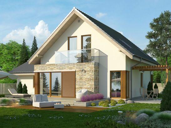 Projekt domu Maestro 2G - widok 2