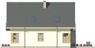 Projekt domu Grappa - elewacja boczna 1