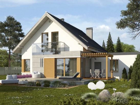 Projekt domu Grappa 2G - widok 2