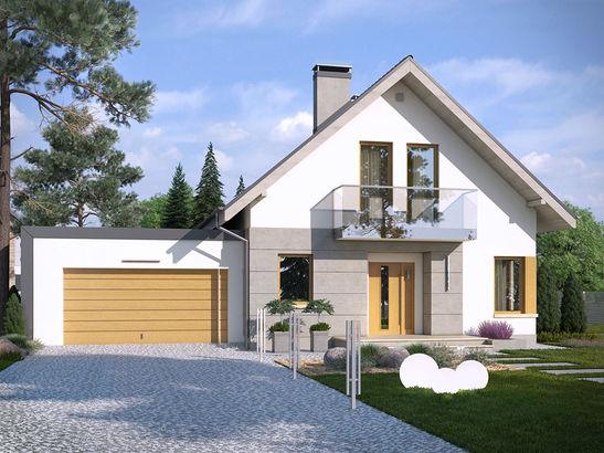 Projekt domu Grappa 2G - widok 1