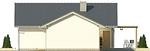 Projekt domu Kalambur - elewacja boczna 2