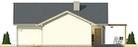 Projekt domu Kalambur 2G - elewacja boczna 2