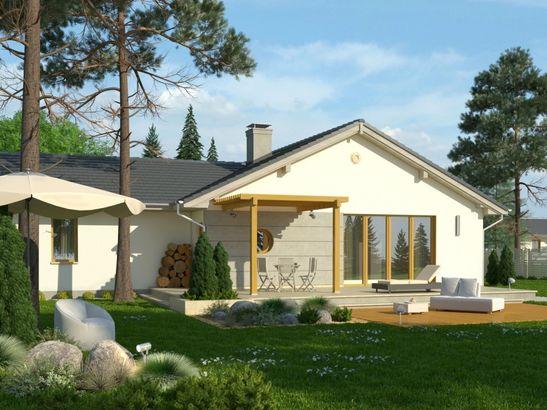 Projekt domu Kalambur 2G - widok 2